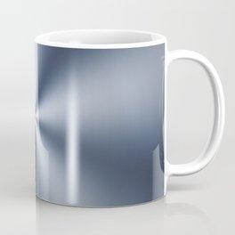 Radial Brushed Metal Texture - Industrial Graphic Design Coffee Mug