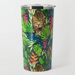 Jaguar Jungle  Travel Mug