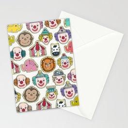 circus cookies multi Stationery Cards
