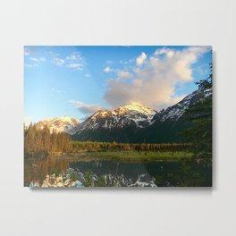 Chugach Mountains Metal Print