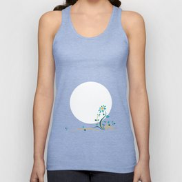 Moonlightflower Unisex Tank Top