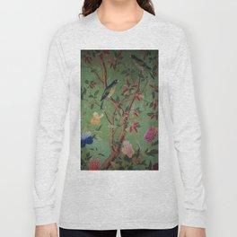 Green Dream Chinoiserie Long Sleeve T-shirt