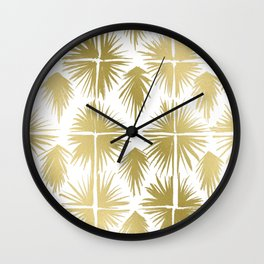 Radiate Gold Wall Clock