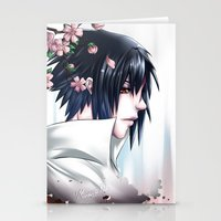 sasuke Stationery Cards featuring Sasuke Uchiha by Clockworkjoker92