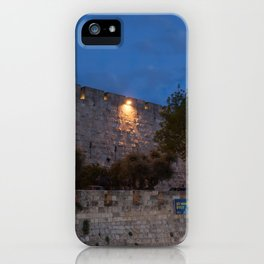 Jerusalem Old Wall iPhone Case