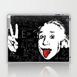 Silly Wisdom - Albert Einstein Laptop & iPad Skin