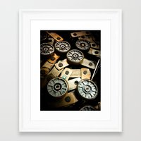 gears of war Framed Art Prints featuring Gears by Mauricio Santana