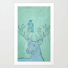 Friends for Life  Art Print