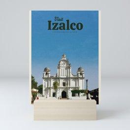 Visit Izalco Mini Art Print