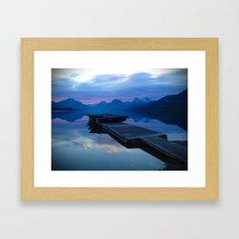 Lake MacDonald Morning Framed Art Print