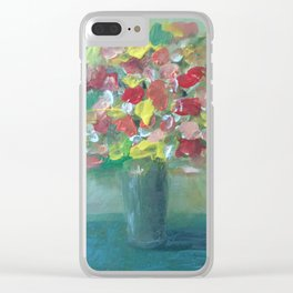 Flowers of love Clear iPhone Case