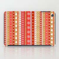 nordic iPad Cases featuring Nordic Stripe by Faye Maguire Designs