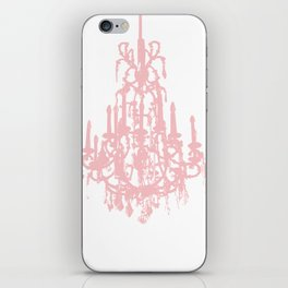 Crystal fading iPhone Skin