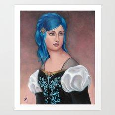 Friederica of Vienwray Art Print