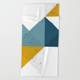 Modern Geometric 19 Beach Towel