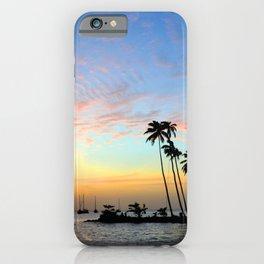 Tropical Island Sunset iPhone Case