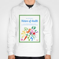 health Hoodies featuring Picture of Health by ColorisBrave