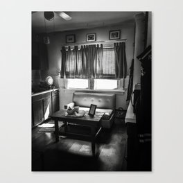 Kitchen Couch Canvas Print