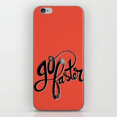 Go Faster! iPhone Skin