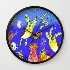 Sea Turtles Wall Clock