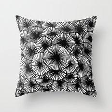 Pinwheels Throw Pillow