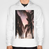 palm trees Hoodies featuring palm trees by NatalieBoBatalie