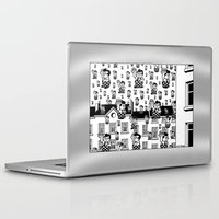 magritte Laptop & iPad Skins featuring MAGRITTE IN MICHIGAN by ART D' SIERGEY