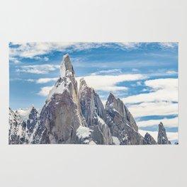 Cerro Torre. Parque Nacional Los Glaciares. Argentina Rug