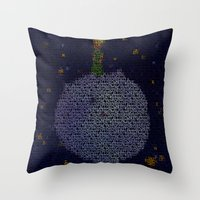 le petit prince Throw Pillows featuring LE PETIT PRINCE by Robotic Ewe