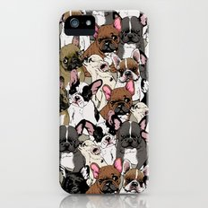 Social Frenchies iPhone (5, 5s) Slim Case