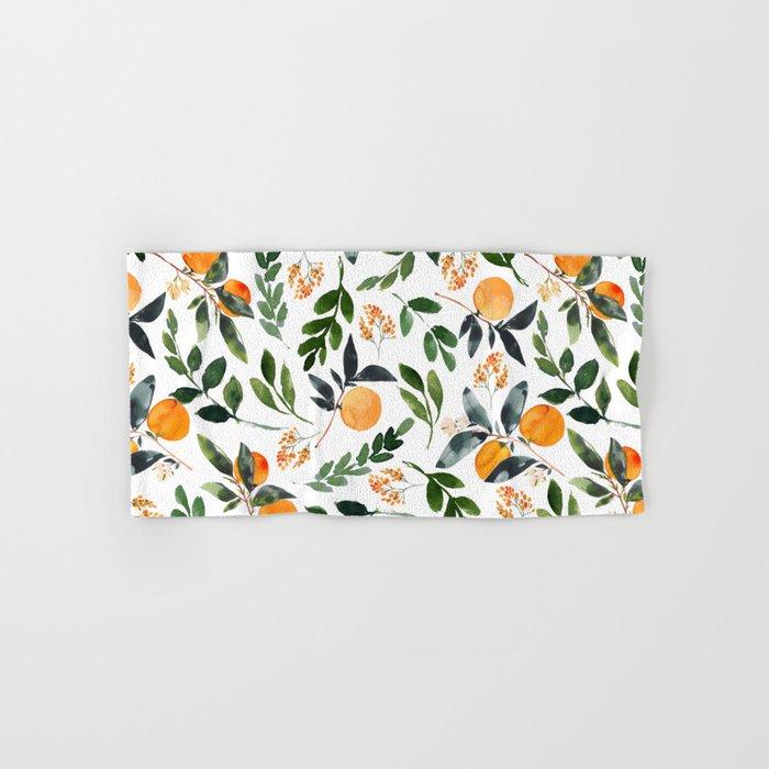 Orange Grove Hand & Bath Towel