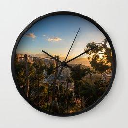 Warmest Dream Wall Clock