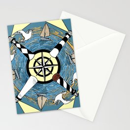OBX Lighthouse Mandala Stationery Cards