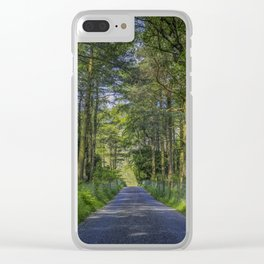 Road To Happiness Clear iPhone Case