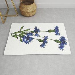 Cornflowers Rug