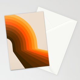 Golden Halfbow Stationery Cards