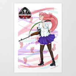 Sniper Knyghte Art Print