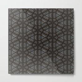 ornament oriental pattern Metal Print