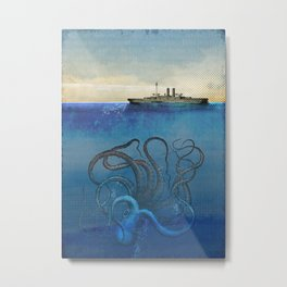 Sea Monster Metal Print