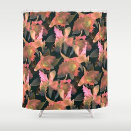Sunset Orchid Shower Curtain