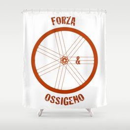 Forza e Ossigeno Shower Curtain
