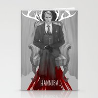 hannibal Stationery Cards featuring Hannibal by Sheryn Ng (rynisyou)