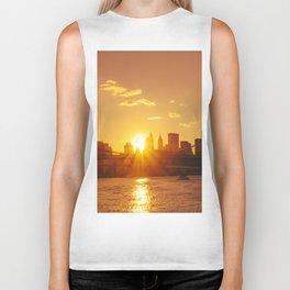 Sunset - New York City Biker Tank