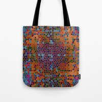 funky Tote Bags featuring funky by mari3000