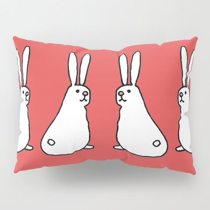 Usagi Rabbits Pillow Sham
