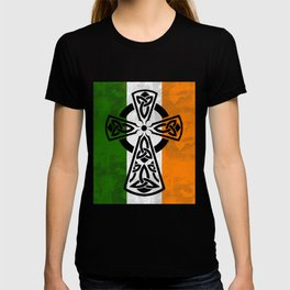 Irish flag -CelticCross St. Patricks Day Perfect Gift Shirt T-shirt