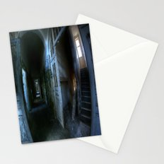 Horror hallway Stationery Cards