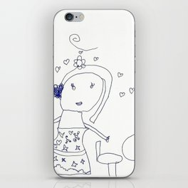 HAPPY FAMILY by Jasmine Wilkes iPhone Skin