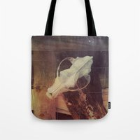 cabin pressure Tote Bags featuring Cabin by ztwede