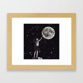 Picasso Plays God Framed Art Print